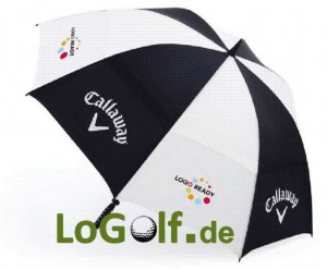 Golfschirme Callaway bedrucken